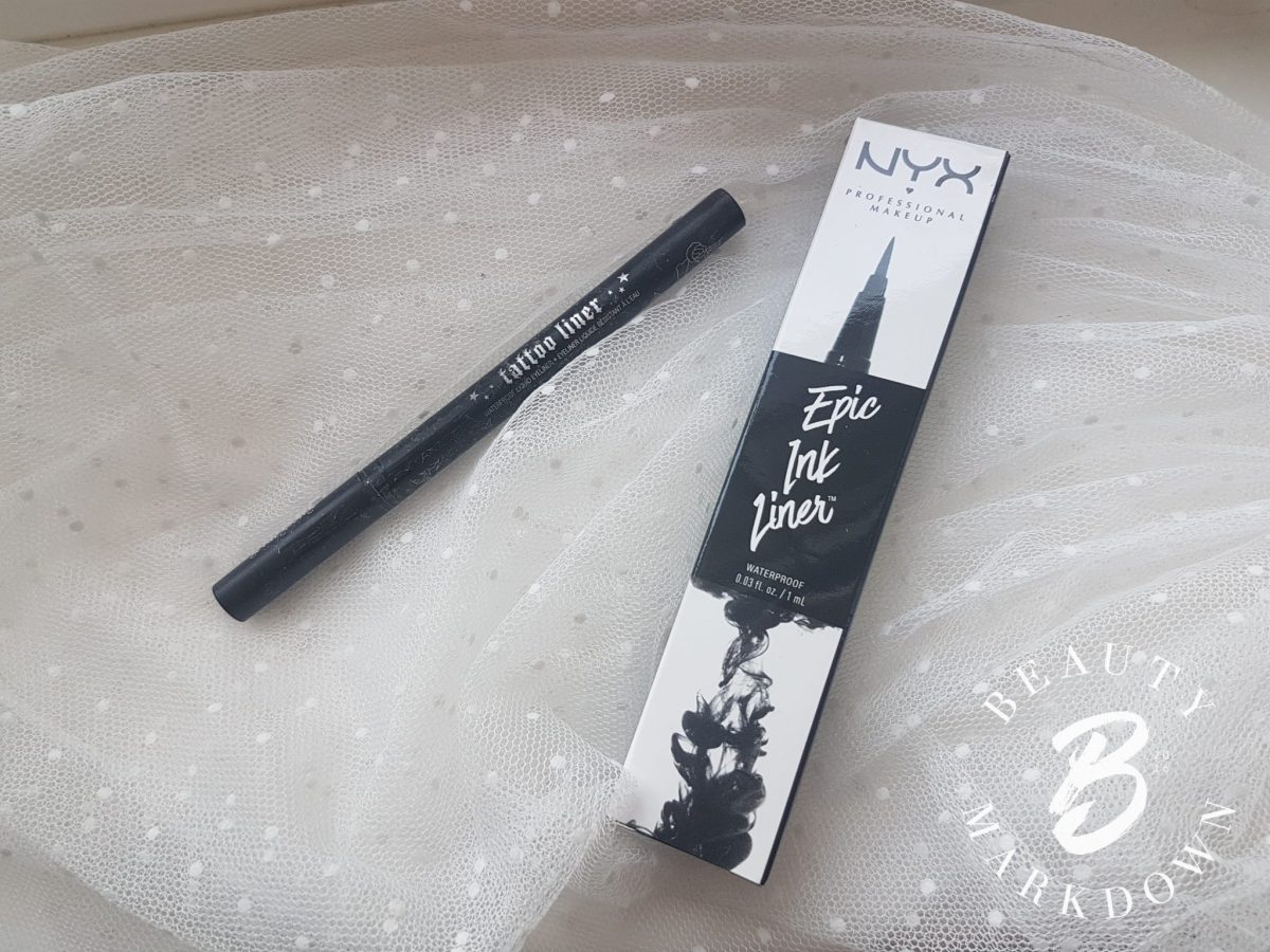 NYX Epic Ink - is it a dupe for Kat von D's Tattoo Liner?